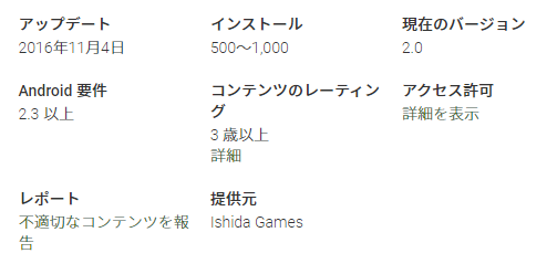 GooglePlay/Escaper/インストール500~1000